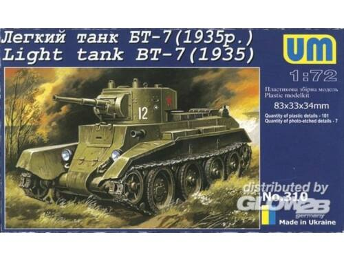 Unimodel Light Tank BT-7 (1935) 1:72 (310)