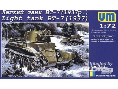 Unimodel Light Tank BT-7 (1937) 1:72 (311)
