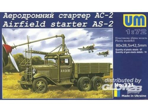 Unimodel Airfield starter AS-2 1:72 (321)