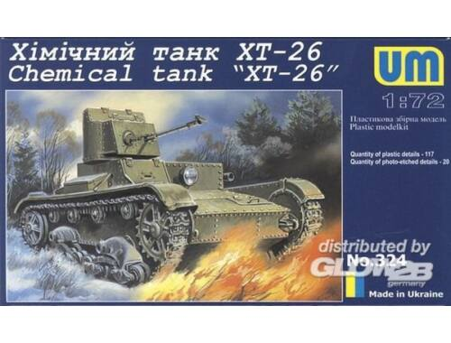 Unimodel Chemical tank XT-26 1:72 (324)