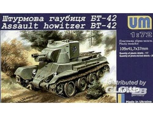 Unimodel BT-42 Finnish assault howitzer(Re-relese 1:72 (339)