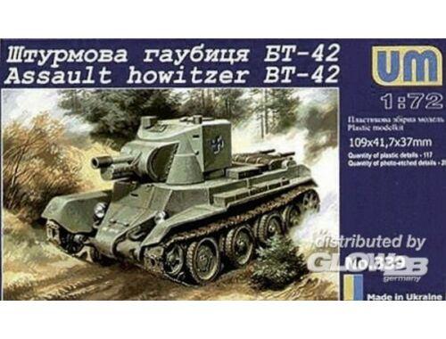 Unimodel BT-42 Finnish assault howitzer(Re-relese 1:72 (339)