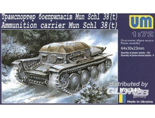 Unimodel Munitions Schlepper 38 (t) 1:72 (342)