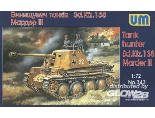 Unimodel Sd. Kfz. 138 Marder III 1:72 (343)