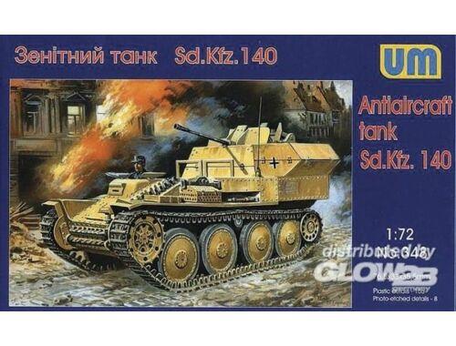 Unimodel Sd.Kfz 140 Flakpanzer 1:72 (348)