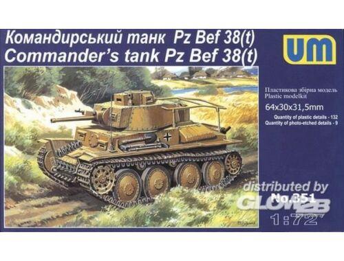 Unimodel Pz Bef 38 (t) Commanders Tank 1:72 (351)