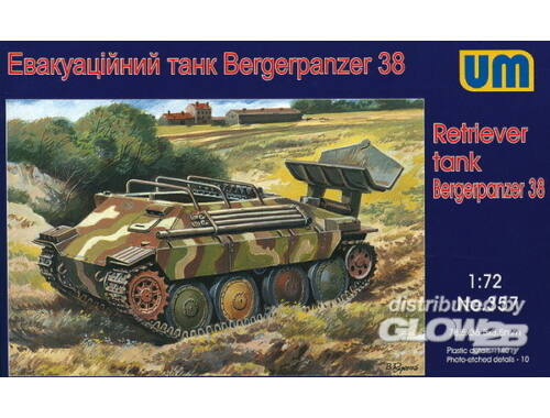 Unimodel Bergerpanzer 38 (Hetzer) 1:72 (357)