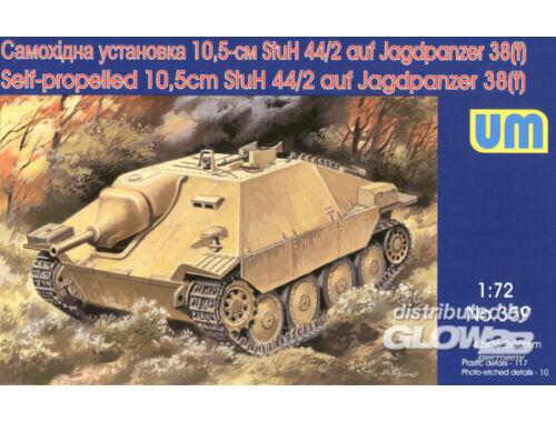 Unimodel Self-propelled 10,5cm StuH-44/2 auf Jagdpanzer 1:72 (359)