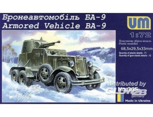 Unimodel Schützenpanzer BA-9 1:72 (365)
