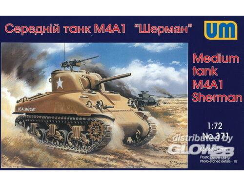 Unimodel Medium Tank M4A1 1:72 (371)
