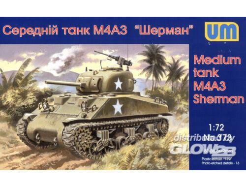 Unimodel Medium tank M4A3(75) 1:72 (373)