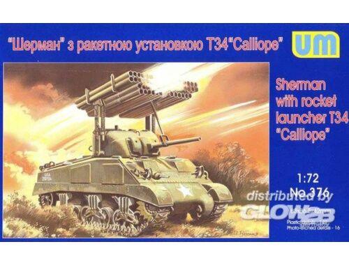 Unimodel Rocket launcher Sherman ''Galliope'' 1:72 (376)