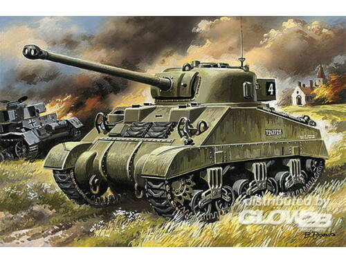 Unimodel Medium tank Sherman ''Firefly'' 1:72 (386)