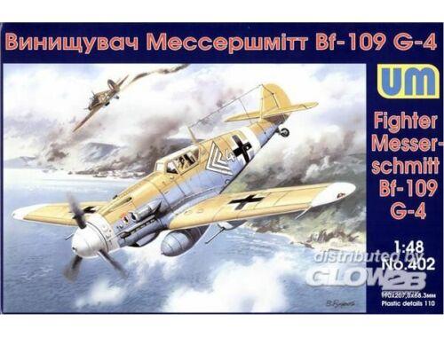 Unimodel Messerschmitt Bf 109G-4/R3 1:72 (402)