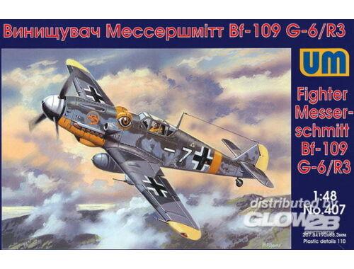 Unimodel Messerschmitt Bf-109 G-6/R3 1:48 (407)