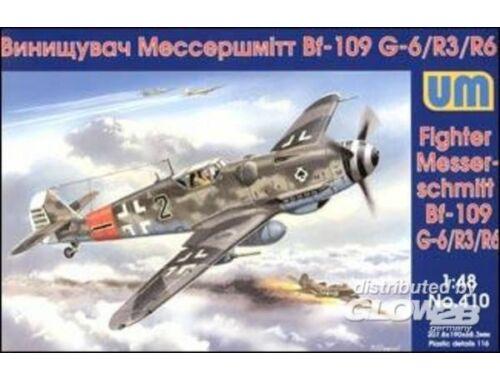 Unimodel Messerschmitt Bf 109G-6/R3/R6 1:48 (410)