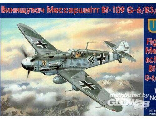 Unimodel Messerschmitt Bf 109G-6/R3/trop 1:48 (416)