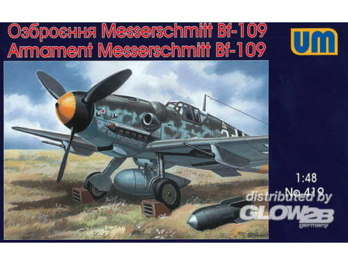Unimodel Armament Messerschmitt Bf-109 1:48 (419)