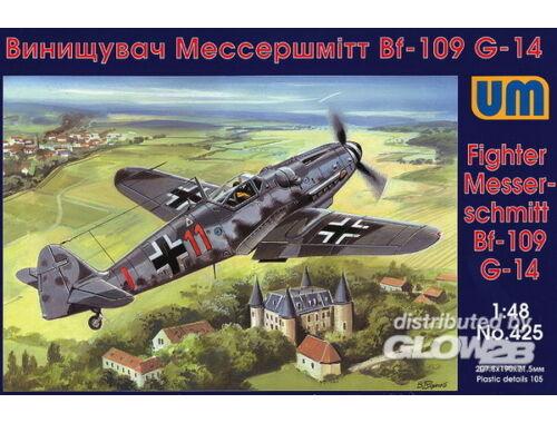 Unimodel Messerschmitt Bf-109 G-14 1:48 (425)