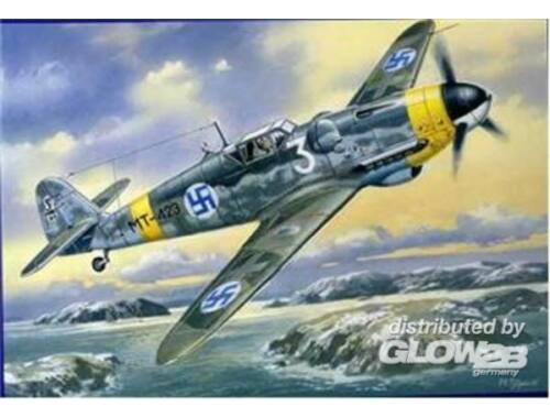 Unimodel Messerschmitt Bf 109G-6/R3 (Finish AirForce) 1:48 (432)