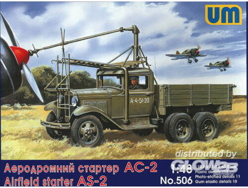 Unimodel Airfield starter AS-2 on GAZ-AAA 1:48 (506)