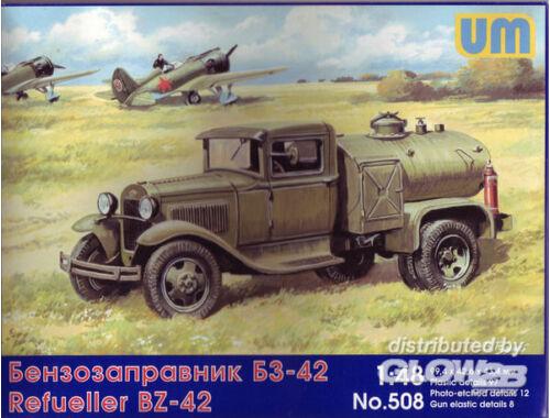Unimodel BZ-42 refuel truck 1:48 (508)