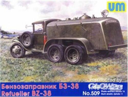Unimodel BZ-38 refuel truck 1:48 (509)