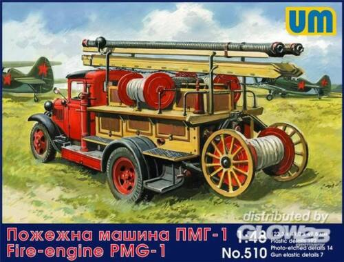 Unimodel Fire engine PMG-1 1:72 (510)