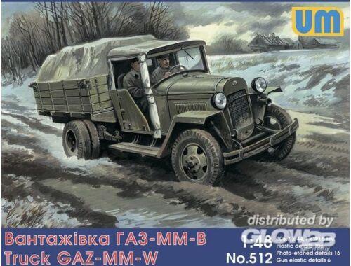 Unimodel GAZ-MM-W Soviet truck 1:72 (512)