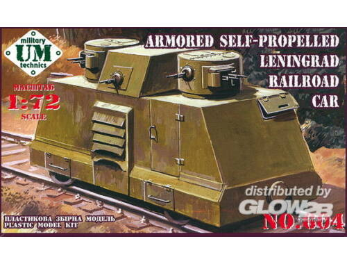 Unimodel Leningrad railroad car 1:72 (604)