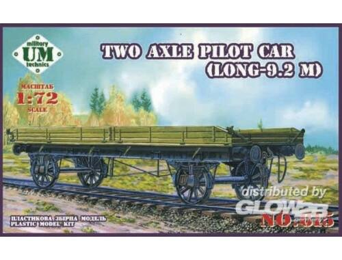 Unimodel Two axle pilot car(9.2 meter long) 1:72 (615)