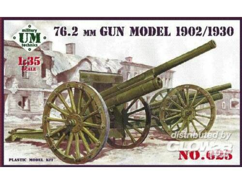 Unimodel 76,2mm gun, model 1902/1930 1:35 (625)