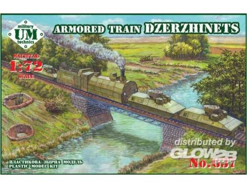 Unimodel Armored train Dzerzhinets 1:72 (637)