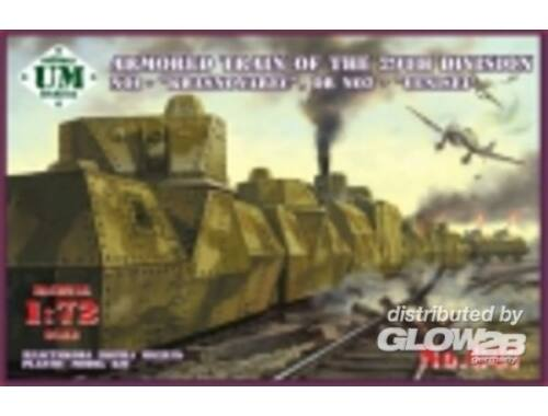 Unimodel Armored train No1 Krasnoyarec´or No2 Yen 1:72 (647)