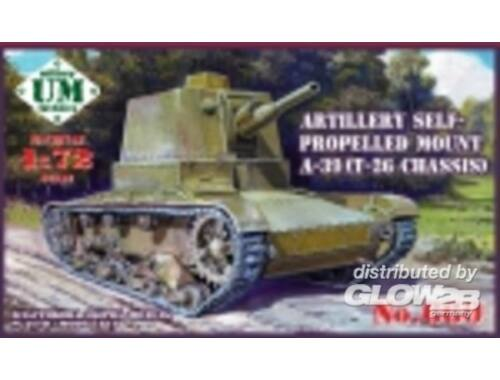 Unimodel A-39 (T-26 chassis) Soviet self-propelle 1:72 (659)