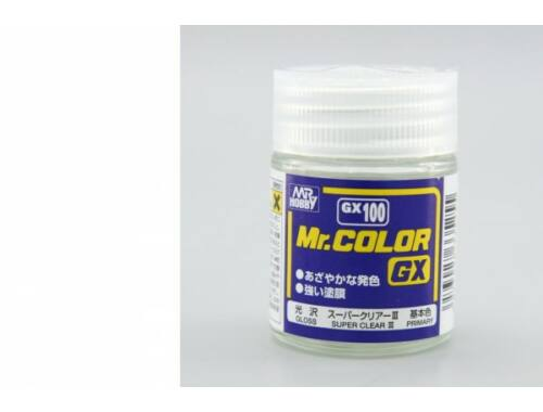 Mr.Hobby Mr.Color GX-100 Gloss Super Clear III