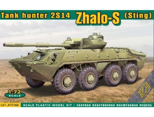 ACE 2S14´Zhalo-S Sting tank hunter 1:72 (ACE72168)