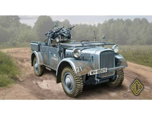 ACE Kfz.4 WWII German AA motor vehicle 1:72 (72512)