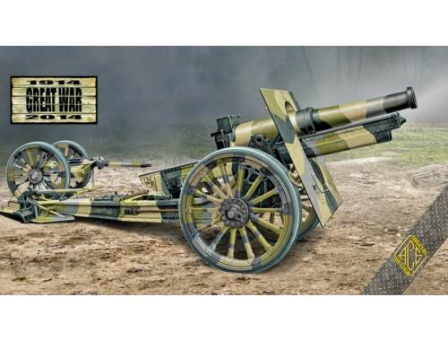 ACE Cannon de 155 C m.1918 wooden wheels 1:72 (ACE72544)