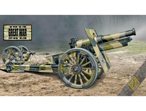 ACE Cannon de 155 C m.1918 wooden wheels 1:72 (72544)