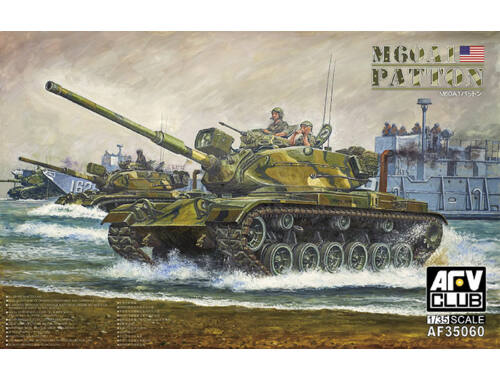 AFV Club M60A1 Patton Main Battle Tank 1:35 (AF35060)