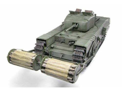 AFV Club Churchill Mk.IV w.Carpet Layer(TypeB)Twi 1:35 (DH96010)