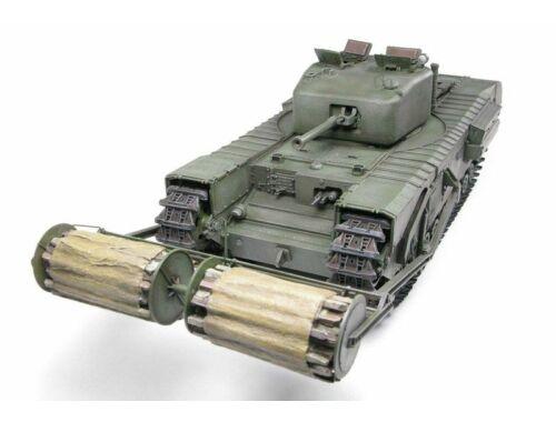 AFV Club Churchill Mk.IV w.Carpet Layer(TypeB)Twi 1:35 (DH96010)