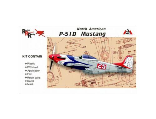 AMG North American P-51D Mustang 1:48 (AMG48501)