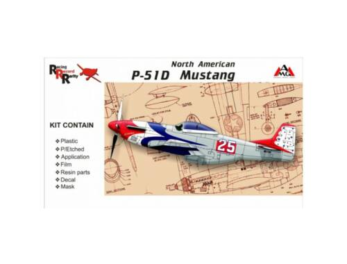 AMG North American P-51D Mustang 1:48 (48501)