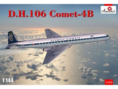Amodel D.H. 106 Comet-4B Olympic airways 1:144 (1449)