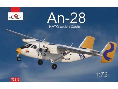 Amodel Antonov An-28 Polish airlines 1:72 (72313)