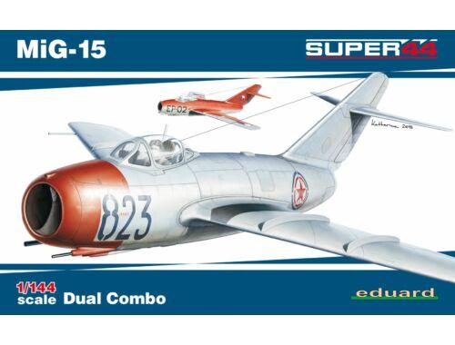 Eduard MiG-15 DUAL COMBO SUPER44 1:144 (4443)