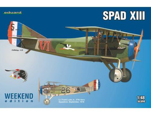 Eduard SPAD XIII WEEKEND edition 1:48 (8425)