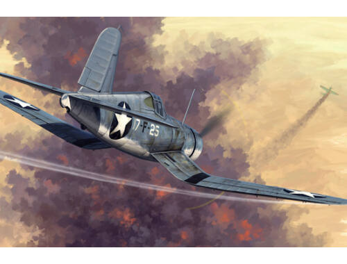 Hobby Boss F4U-1 Corsair Early version 1:48 (80381)